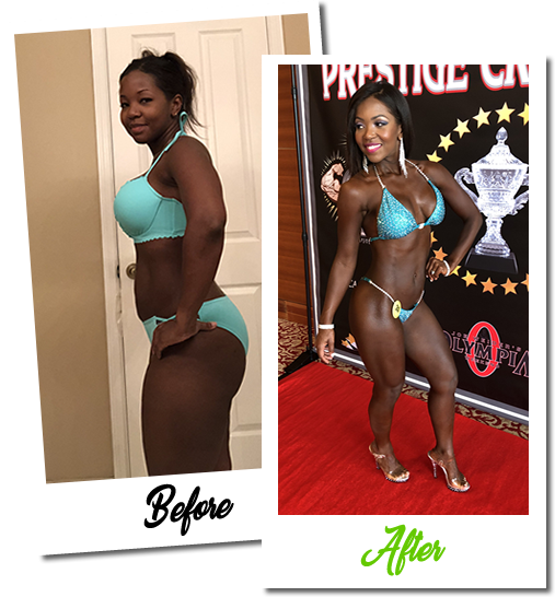 Coral Springs Online Weight Loss Nutrition Coach Tenisha Douglas